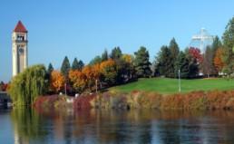 Spokane in Fall